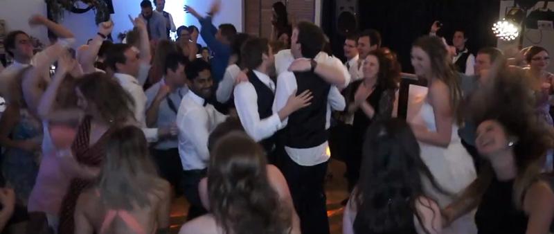 Lumin8 Wedding DJ Dance Floor