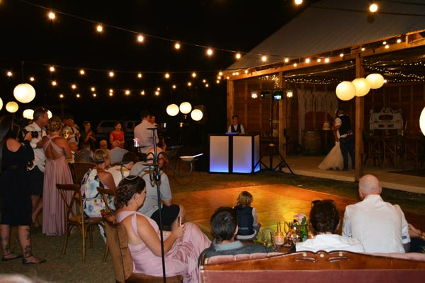 Rustic Wedding DJ