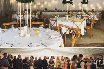 Old-Broadwater-Farm-Weddings-centrepieces