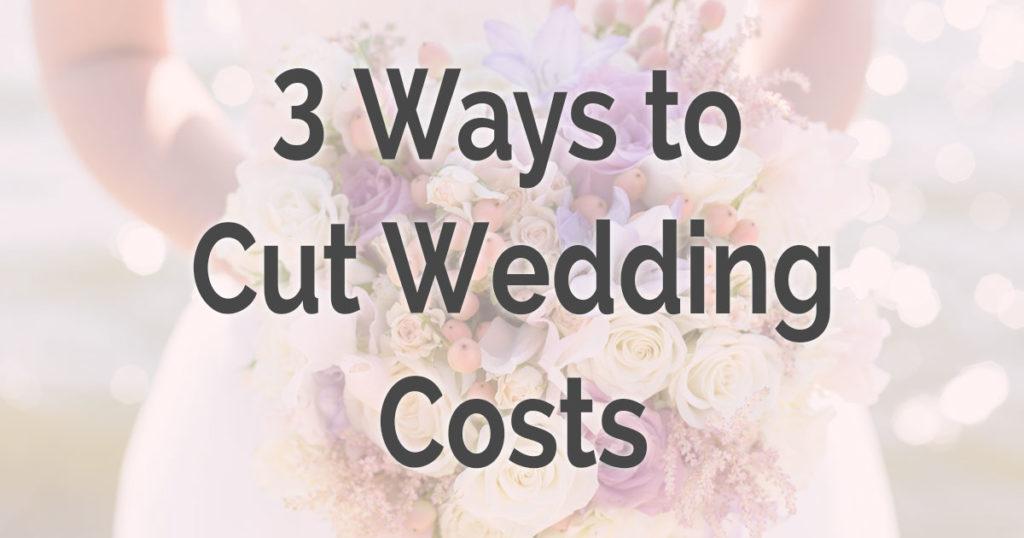 cutting wedding costs, perth