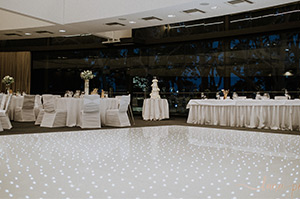 Decorations & dance floor package