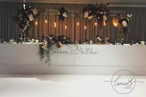 White Gloss Wedding
